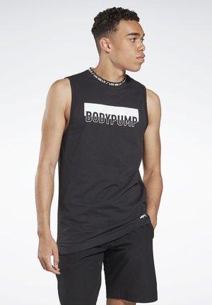 LES MILLS® BODYPUMP® TANK TOP - T-shirt de sport - black