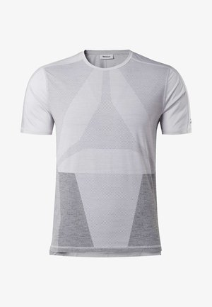 UNITED BY FITNESS ACTIVCHILL VENT TEE - T-shirts print - sterling grey