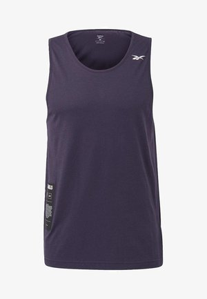 LES MILLS® GRAPHIC TANK TOP - Toppe - purple