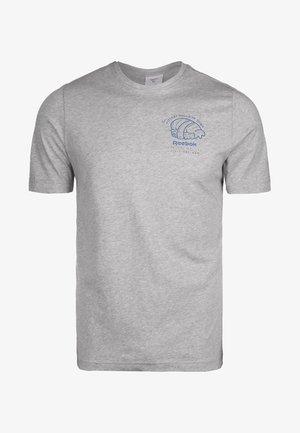 PANDA  - Print T-shirt - medium grey heather