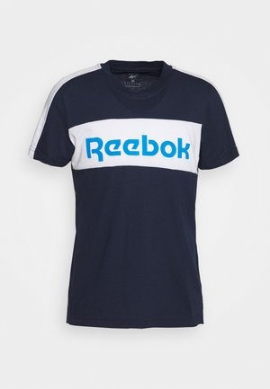 GRAPHIC TEE - T-shirt print - dark blue