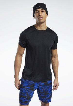WORKOUT READY POLYESTER TECH TEE - T-shirt print - black