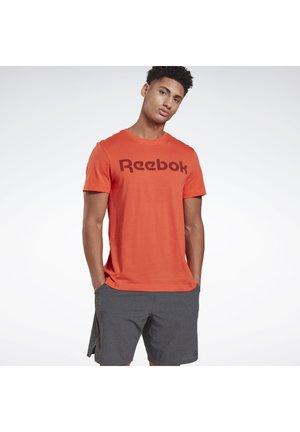 GRAPHIC SERIES LINEAR LOGO TEE - T-shirts med print - orange