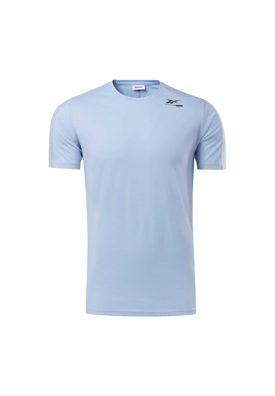 Reebok Speedwick Move Tee - T-shirt Con Stampa Blue