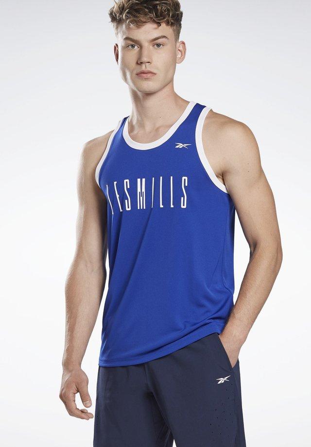 LES MILLS® B-BALL SLEEVELESS T-SHIRT - Top - blue