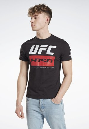 UFC FIGHT WEEK T-SHIRT - Sportshirt - black