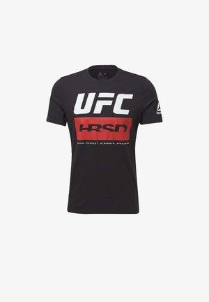UFC FIGHT WEEK T-SHIRT - Sports shirt - black