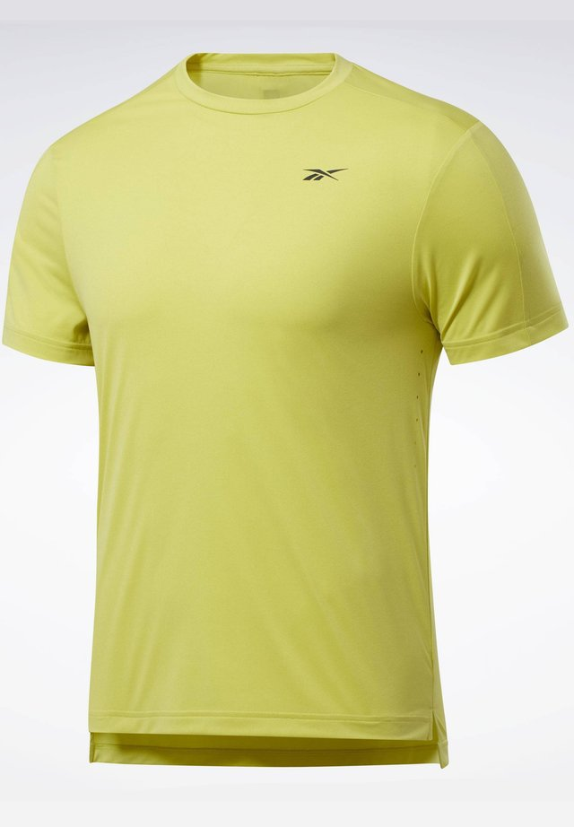 UNITED BY FITNESS PERFORATED - T-shirt print - green