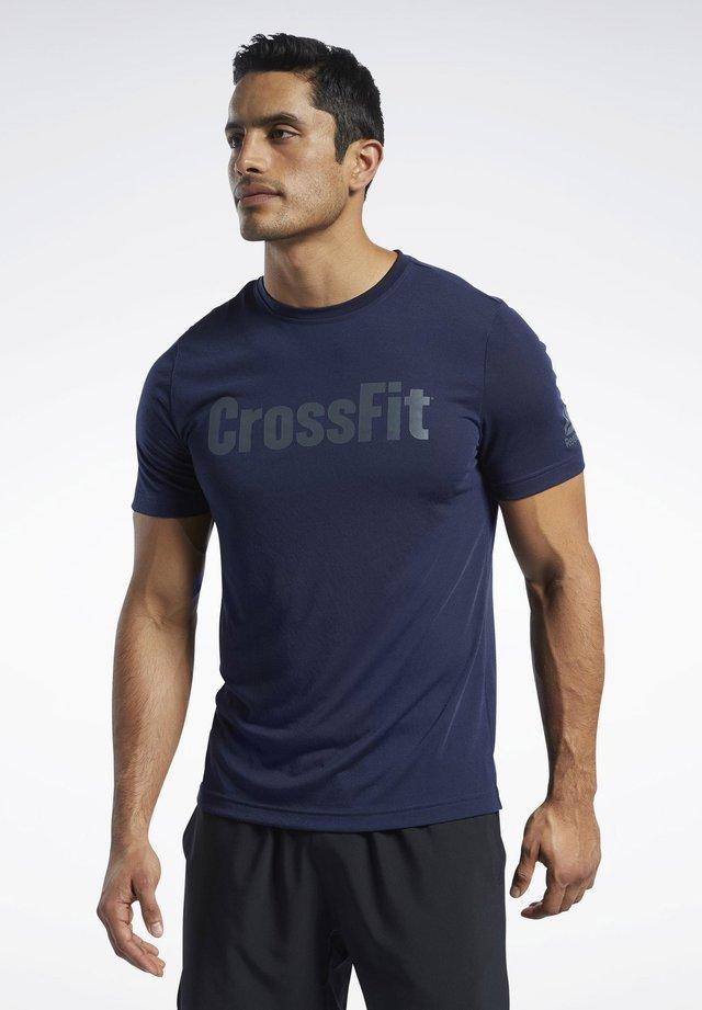 REEBOK  READ T-SHIRT - T-shirts print - blue