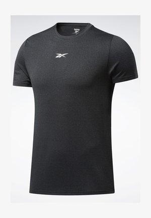 WORKOUT READY MÉLANGE T-SHIRT - T-shirt basique - black