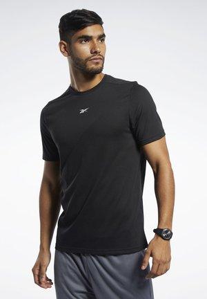 WORKOUT READY SUPREMIUM TEE - T-shirt print - black