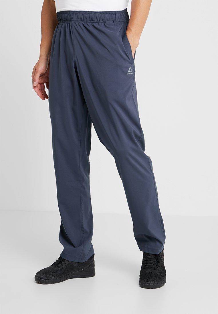 Reebok - TRAINING ESSENTIALS - Pantalon de survêtement - dark blue