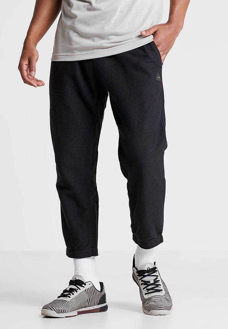 Reebok - JOGGER - Spodnie treningowe - black