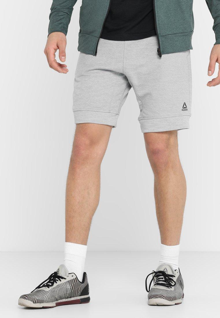 Reebok - MARBLE GROUP SHORT - Pantalón corto de deporte - grey