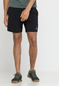 Reebok - WOR SPEEDWICK TRAINING SHORTS - Pantaloncini sportivi - black - 0