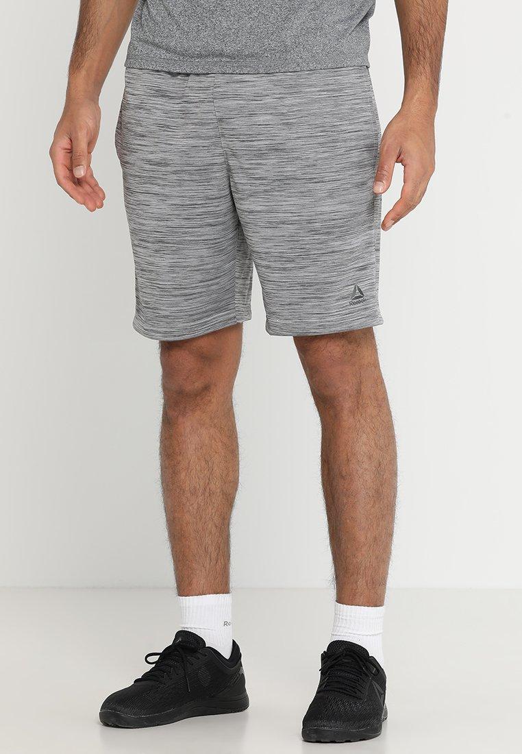 Reebok - WOR SHORT - Sports shorts - melange grey heather