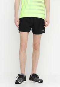 Reebok - SHORT - Pantalón corto de deporte - black - 0