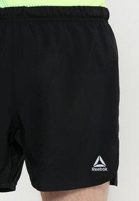 Reebok - SHORT - Pantalón corto de deporte - black - 4