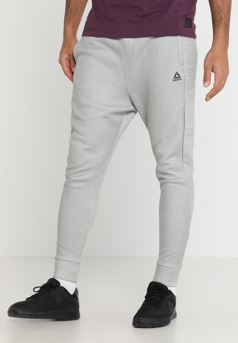 Reebok - OST SPACER PANT - Tracksuit bottoms - grey