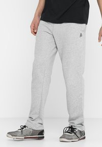 Reebok - Pantalones deportivos - medium grey heather - 0