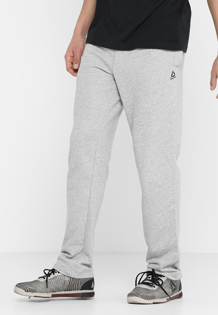 Reebok - Pantalones deportivos - medium grey heather