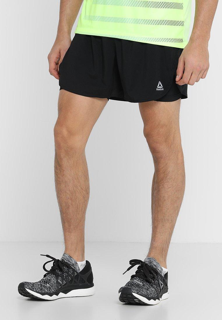 Reebok - SHORT - Pantalón corto de deporte - black