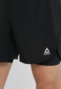 Reebok - SHORT - Pantalón corto de deporte - black - 3