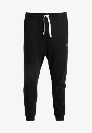 TRAINING ESSENTIALS LOGO  - Pantaloni sportivi - black