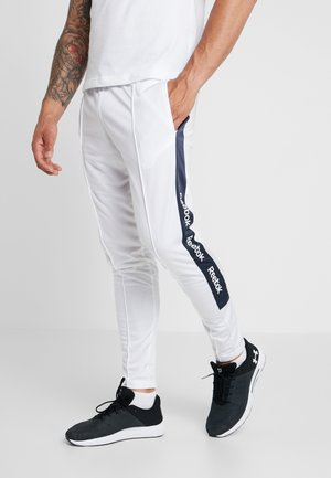 TRAINING ESSENTIALS TRACK PANTS - Trainingsbroek - white