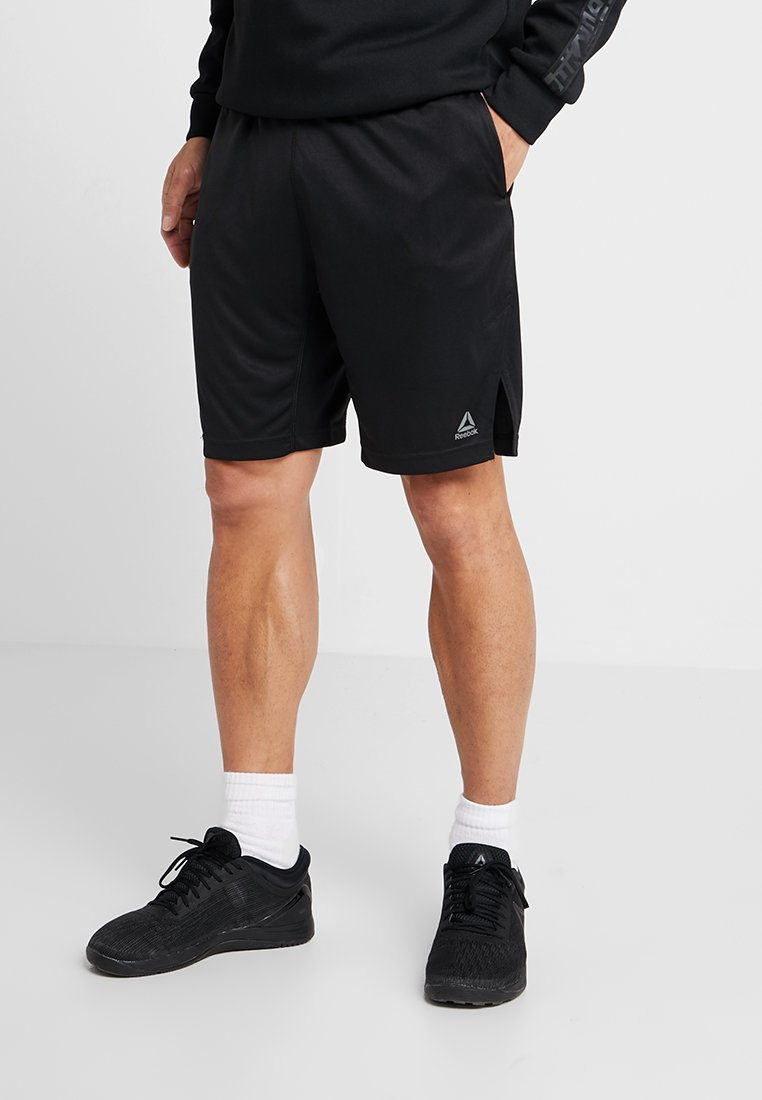 Reebok - TRAINING SHORTS - Korte sportsbukser - black