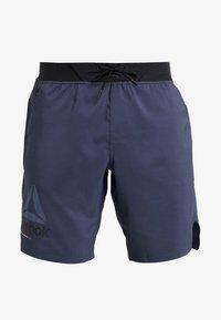 Reebok - OST EPIC GRAPHIC - Sports shorts - dark blue - 3