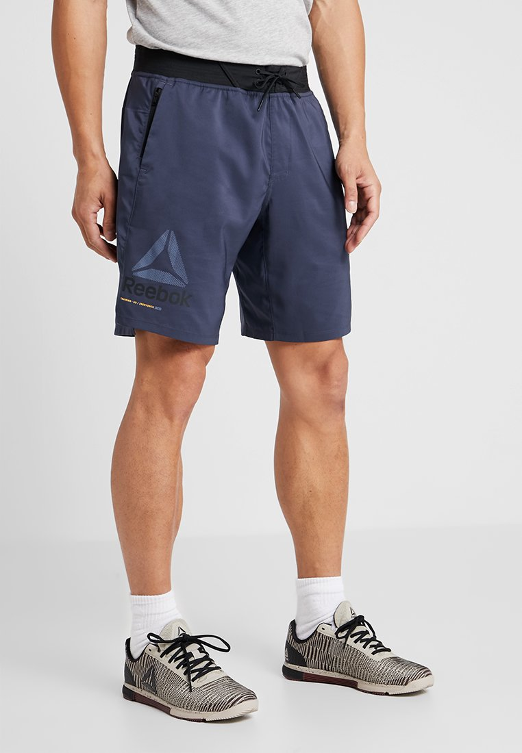Reebok - OST EPIC GRAPHIC - kurze Sporthose - dark blue