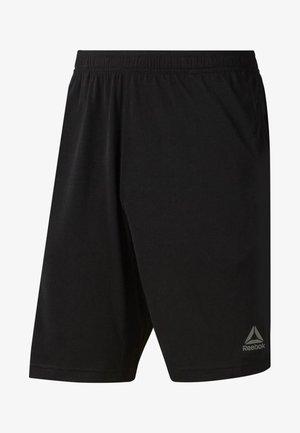 TRAINING ESSENTIALS JERSEY SHORT - Sports shorts - black