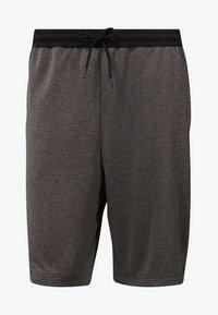 Reebok - WOR KNIT PERFORMANCE SHORTS - Shorts - black - 6