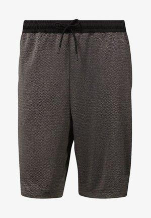WOR KNIT PERFORMANCE SHORTS - Shorts - black