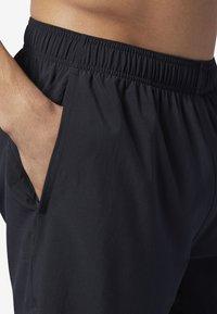 Reebok - REEBOK GAMES AUSTIN II SHORTS - Sports shorts - black - 4