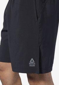 Reebok - REEBOK GAMES AUSTIN II SHORTS - Sports shorts - black - 3