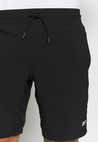 Reebok - SHORT - Sports shorts - black - 3