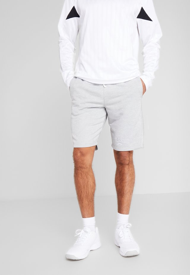 SHORT - Korte broeken - medium grey heather