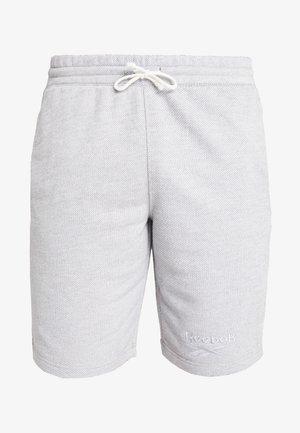 SHORT - Pantalón corto de deporte - medium grey heather