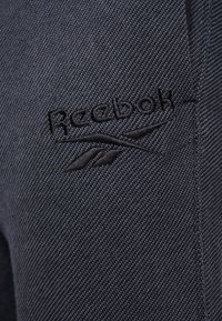Reebok - MELANGE PANT - Spodnie treningowe - black - 4