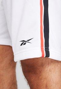 Reebok - TRICOT SHORT - Short de sport - white - 5