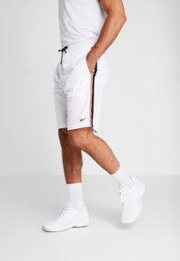 Reebok - TRICOT SHORT - Short de sport - white - 0