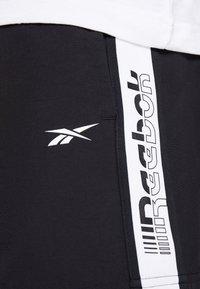 Reebok - Sportovní kraťasy - black - 3