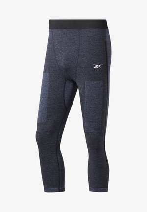 UNITED BY FITNESS MYOKNIT 3/4 TIGHTS - 3/4 sports trousers - blue