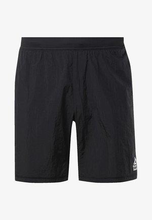 REEBOK HYBRID SHORTS - Sports shorts - black