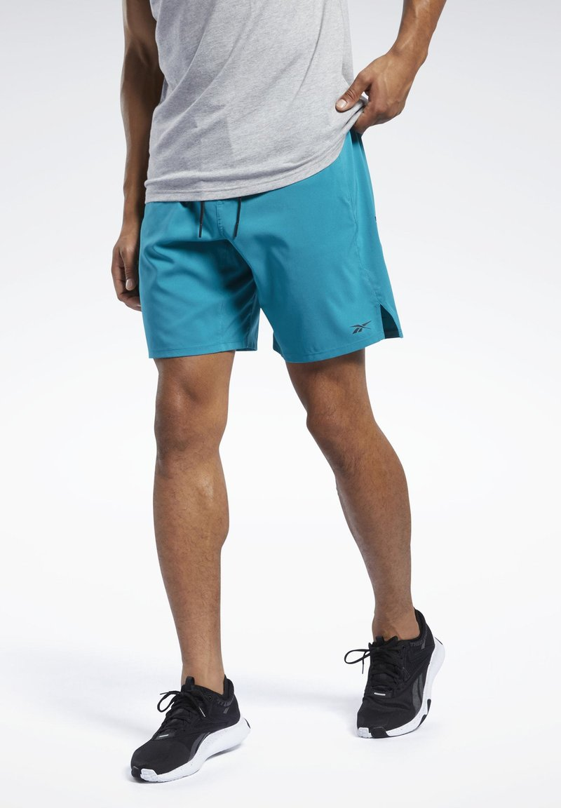 Reebok - EPIC SHORTS - Shorts - seaport teal