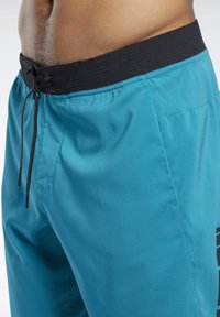 Reebok - EPIC SHORTS - Shorts - seaport teal - 4