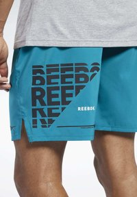 Reebok - EPIC SHORTS - Shorts - seaport teal - 3