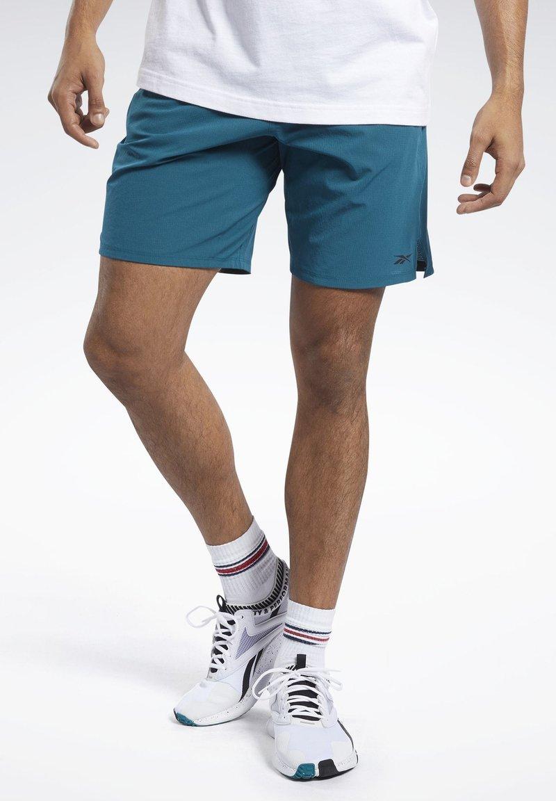 Reebok - EPIC SHORTS - Sports shorts - heritage teal